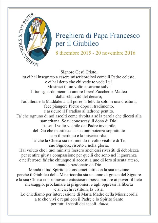 Conosciuto GIUBILEO DELLA MISERICORDIA | Diocesi di Vallo della Lucania | HM61